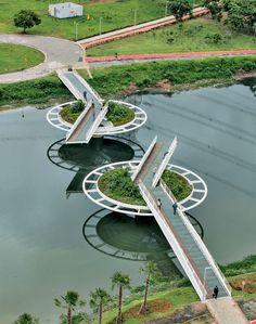 Friedrich Bayer Bridge - São Paulo, Brazil