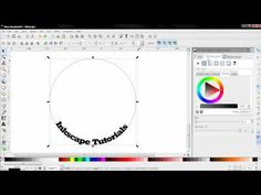 Fantastic Tutorial ----> How to Put Text on Path (Tips and Tricks) - Inkscape Tutorial - YouTube