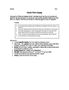 profile essay assignment gatsby worksheets and students huckleberry finn essay