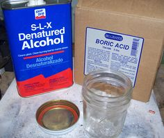 Mark Nelson's Tips: Mixing Boric Acid Barrier Flux | The Studio - Jewelry Blog by Rio Grande