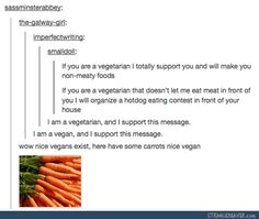 Yes. Because being pushy and militant makes people hate the mere idea of a veg diet