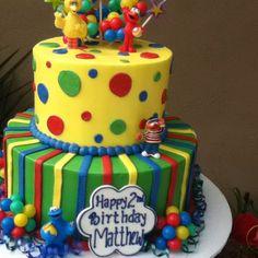 Sesame Street birthday cake for a special boy :-)