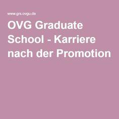 OVG Graduate School - Karriere nach der Promotion