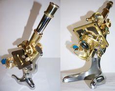 1920 Antique Microscope by E. Leitz Wetzlar by MisterMicroscope
