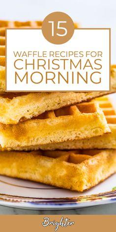 Savory Waffles, Christmas Morning Breakfast, Waffle Recipes, Dessert Recipes, Desserts, Junk Food, Cooking Recipes, Healthy Recipes, Hot Dog Buns