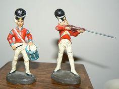 2 SS KRESGE COMPOSITION BRITISH TOY SOLDIERS ELASTOLIN LINEOL DURSO LEYLA (12/28/2012)