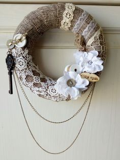 Vintage wreath,my works