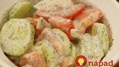 Nemecký uhorkový šalát s výbornou zálievkou: Bez octu, diétny a ak si pridáte, urobíte veľmi dobre!