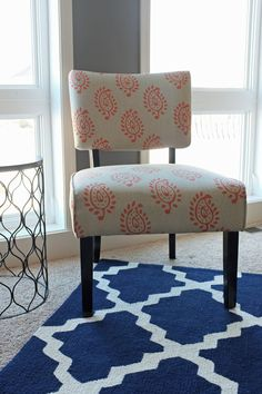 coral and teal in living room - Google Search
