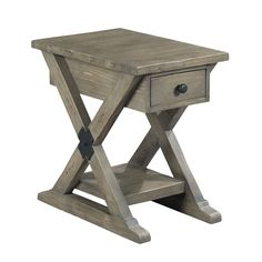 Hammary Furniture - High Point, NC - RECLAMATION PLACE :: CHAIRSIDE TABLE