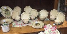 Poppytrail dish set