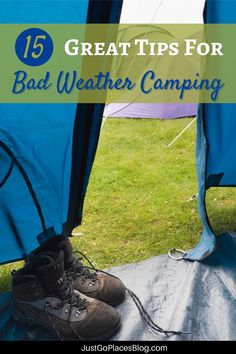 Looking for camping in the rain tips? We've got plenty of camping in the rain hacks thanks to our extended camping experiences in England. We've been camping in the rain with kids for years and have lots of camping tips and tricks, including camping tips for beginners. Stay dry in the rain and enjoy every minute of it! Or, you may find your kids want to throw on rain boots and embrace wet weather camping in all of its muddy glory. Wet camping doesn't have to rain on your (camping) parade! What To Bring Camping, Camping In The Rain, Camping With Kids, Camping Tips, Travel Advice, Travel Tips, Travel Ideas, Go Glamping, Wet Weather