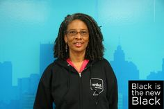Desiree Cooper rocks #WDET #Detroit  swag