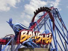 Kings Island's Banshee is the world's longest inverted roller coaster at 4,124 feet.