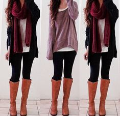 Comfy/cute winter outfits
