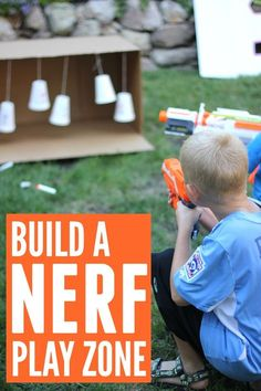 Toddler Approved!: Create a Fantastically Simple NERF Family Play Zone #ad #TRUPowerUpFun