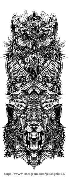 Animal Totem Design