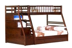 Twin/Full Step Bunk Bed - http://www.furniturendecor.com/twinfull-step-bunk-bed-2-drawers-espresso-color/ - Related searches: Bedroom Furniture, Beds and Bed Frames, Furniture, Home and Kitchen