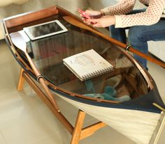 The sea lover's coffee table.