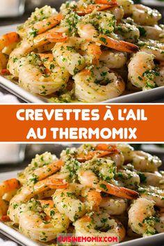 Garlic Shrimp, Voici, Desserts, Bowls, Food, Cooker Recipes, Drinks, Tailgate Desserts, Serving Bowls