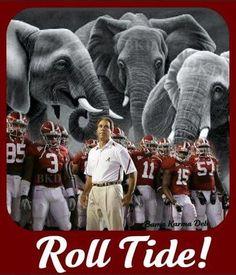 ROLL TIDE ROLL!!  Alabama football Roll Tide