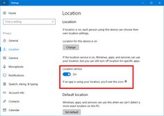 How to delete and disable location history in the Windows 10 Creators Update