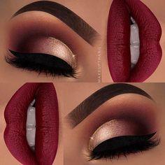 "Red shades are just hypnotizing❗️❤️ --- @anastasiabeverlyhills @norvina Dipbrow Pomade ""Chocolate"" and Modern Renaissance Palette ""Buon Fresco"", ""Venetian Red"", ""Cyprus Umber"" & ""Love Letter"" @makeupgeekcosmetics Single Eyeshadows ""Tuscan Sun"", ""Cupcake"" & ""Bitten"" @makeupforeverofficial Star Lit Powders ""02"", ""13"" & ""15"" @tartecosmetics Tarteist Clay Paint Liner @nyxcosmetics @nyxcosmeticsnordics Glitter Liner ""Crystal Gold"" @acebeaute @itsmuaashley @mua_ashley_ ""MUAASHLEY"" lashes…"