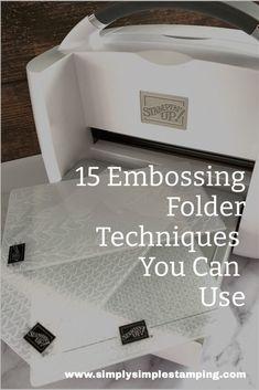 Embossing Folders Fun: 15 Creative Ways to Make Paper Craft Magic