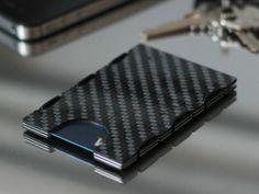 Carbonlite™: Aerospace grade carbon fiber minimal wallet. by slimTECH™ — Kickstarter
