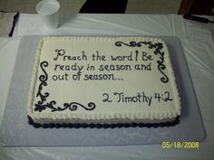 Ordination Cake Photo:  This Photo was uploaded by Scutesy. Find other Ordination Cake pictures and photos or upload your own with Photobucket free image...