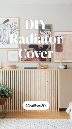 Diy Radiator Cover, Radiator Ideas, Diy Home Decor Projects, Diy Home Crafts, Decor Ideas, Diy Wall Decor, Room Decor, House Makeovers, Tumblr Rooms
