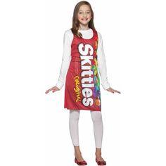 Skittles Tank Dress Tween/Teen Halloween Costume   Walmart.com