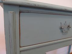 Headboard footboard revamp ceecee Caldwell chalk paint
