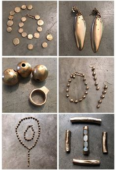 Different bronze pieces from our new 2016 collection.