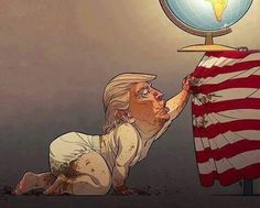 "Amy Berg on Twitter: ""Painfully accurate take on @realDonaldTrump by talented artist Christian Bloom. https://t.co/kavYgdk6kk"""