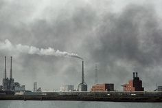 by Harry Gruyeart / Port industry, Town of Antwerpen, Belgium, 1992