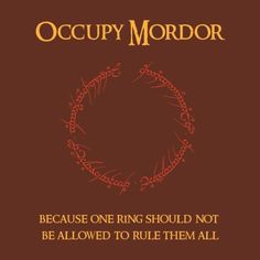 Because one ring should not be allowed to rule them all