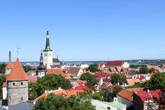 Näkymä Patkulin näköalapaikalta Tallinnan vanhaankaupunkiin © tripsteri.fi / Veera Marjamaa