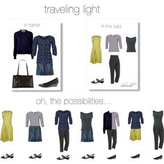 """Traveling light"" by silverwild on Polyvore"