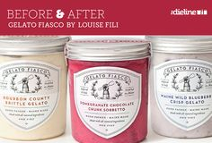 Gelato Fiasco - goes to show how a repackaging can change the perception of the product, in a good way.