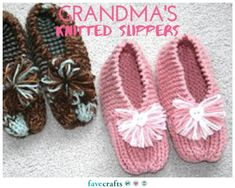 Grandma's Knitted Slippers                                                                                                                                                      More
