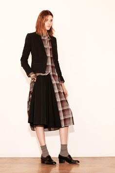 Elizabeth and James | Pre-Fall 2014 Collection |  Plaid still going strong.
