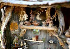 Fairy house pantry