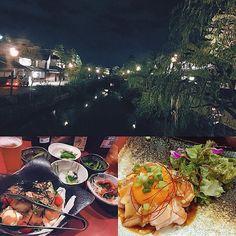Instagram【ks0127ak】さんの写真をピンしています。 《✸ . . 9/23 久々#美観地区 😊 晩に行ったらキレイだった✨ わりとよく行く#鶏屋 🐓 #ユッケ おいしかった😋 安定のビール🍺しあわせ〜☀️ 9/24きのうで5か月💡 なんかあっとゆうまだな〜😄 . #居酒屋#倉敷#夜景》