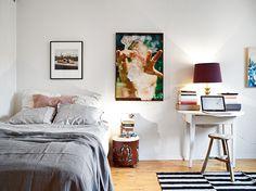 Veja mais em Casa de Valentina www.casadevalentina.com.br #details #interior #design #decoracao #detalhes #charm #bedroom #quarto #simple #casadevalentina