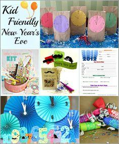 Ring in the New Year with Kid Friendly Countdown Ideas, Party Dessert and Appetizers from HoosierHomemade.com