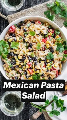 Pasta Recipes, Salad Recipes, Dinner Recipes, Mexican Food Recipes, Vegetarian Recipes, Healthy Recipes, Pasta Dishes, Food Dishes, Side Dishes