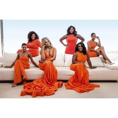 Orange is the New Black - Ebony magazine photo shoot
