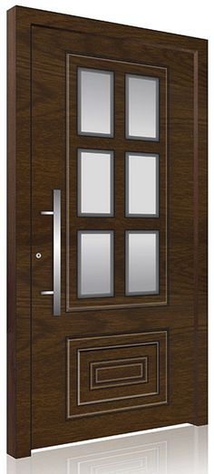 RK2300 Modern Exterior, Modern Front Door, Pivot Doors, Modern, Types Of Doors, Front Door Design, Doors, Modern Contemporary, Door Color