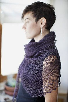 Rock Island Shawl Pattern, not free. 600 yards of lace or 700 yards of fingering